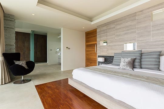 Contemporary bedroom four design